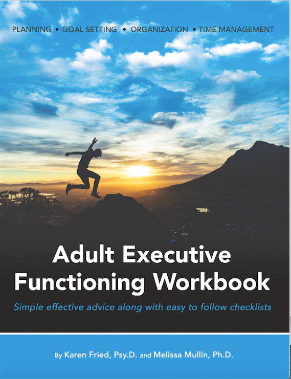 Adult Executive Functioning workbook
